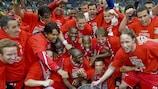 Twente enter the top echelon