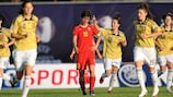 Natasa Andonova excelled for a side at times overwhelmed
