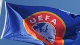 Le drapeau de l'UEFA
