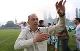 Ilian Iliev has brought European football back to Beroe