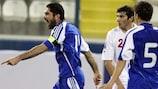 Michalis Konstantinou scored twice for Omonia