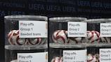 Les chapeaux du tirage des barrages de l'Europa League