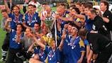 La Juventus trionfa in UEFA Champions League nel 1996