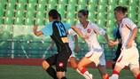 Apollon Limassol (in schwarz) verlor 1:2 daheim gegen Zvezda