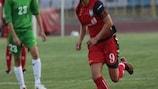 Inka Grings scored four goals for Duisburg in Kazakhstan