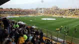 Aris have never lost a UEFA competition game at the Kleanthis Vikelidis Stadium