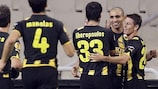 AEK's second-half display was too strong for Hajduk