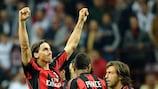 Zlatan Ibrahimović (AC Milan) aime la pression des grands rendez-vous européens