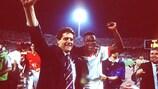 Fabio Capello esulta con Marcel Desailly nel 1994