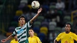 Diogo Salomão marked his second Sporting start with a goal