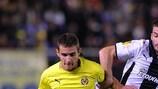 Marco Ruben (Villarreal CF) e Giorgos Fotakis (PAOK FC)