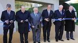 Inaugurato nuovo edificio UEFA