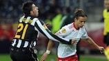 Juve's Krasić pegs back Salzburg
