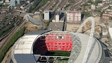 The UEFA Champions League final is coming to Wembley Stadium