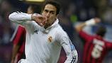 Watch ten of Raúl's best European goals