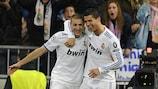 Auxerre's Fernandez salutes classy Madrid