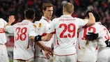 Der VfB würde nur zu gerne auch im Rückspiel so jubeln
