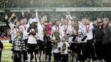 El Rosenborg ganó el título de liga en Noruega en 2010 sin perder ningún partido