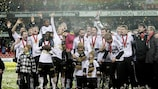 Rosenborg won the 2010 Norwegian title without losing a game