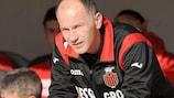 Qatip Osmani is proving his worth as a coach with Skendija