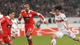 Auch Shinji Okazaki konnte mit all seinem Einsatz die Niederlage des VfB Stuttgart nicht verhindern