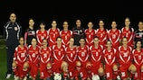 Malta line up before their recent friendly win against ASD Marsala 1912