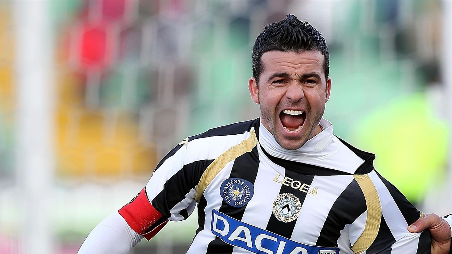 Antonio Di Natale.Udinese S Di Natale Resolved To Find Redemption Uefa Champions League Uefa Com