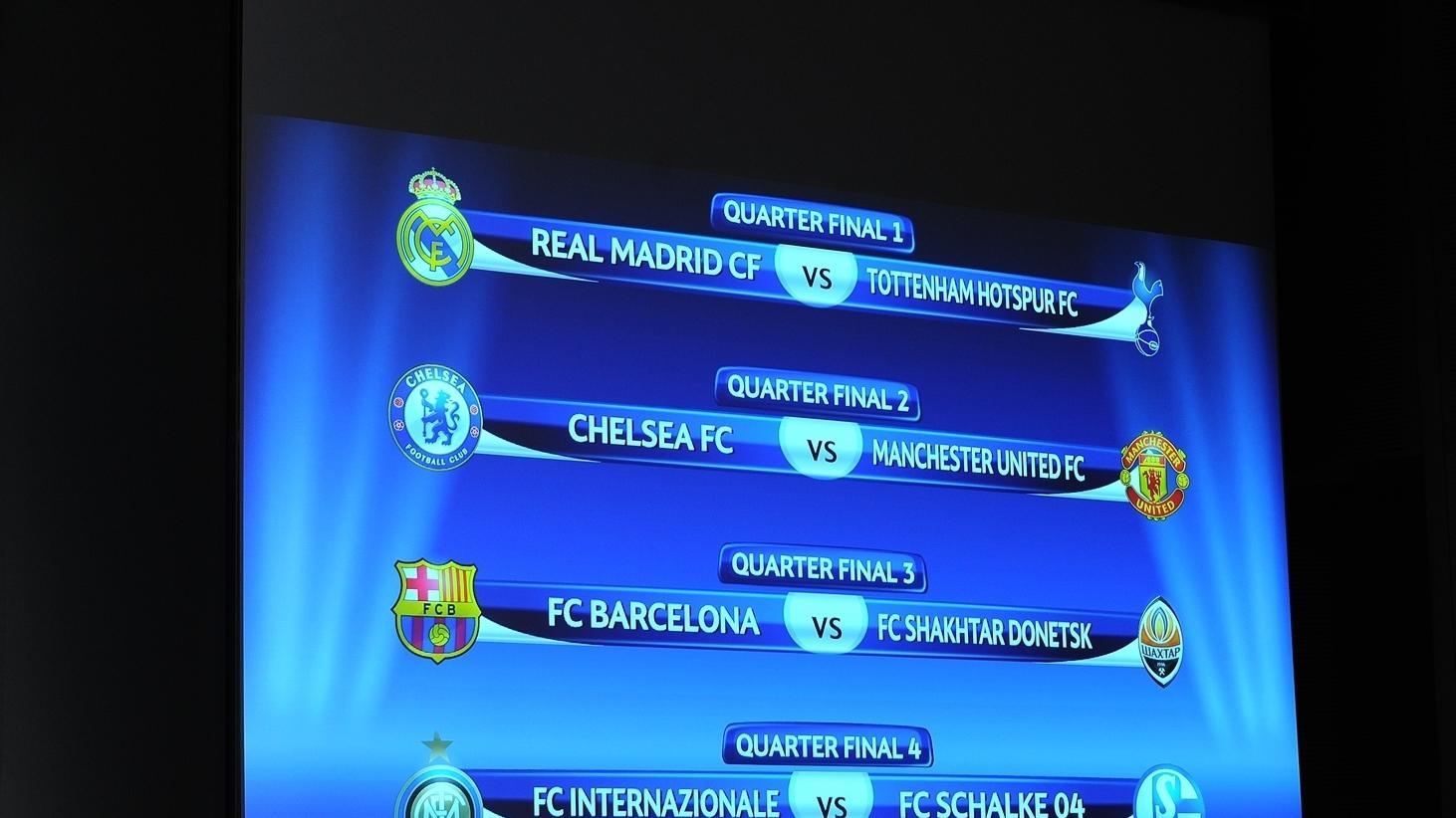 champions league quarter final draw uefa champions league uefa com champions league quarter final draw