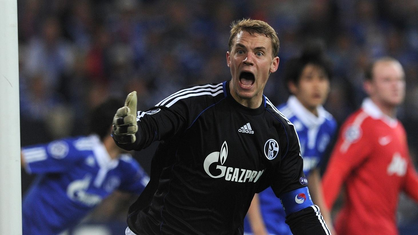 Neuer Disappointed At Awestruck Schalke Uefa Champions League Uefa Com