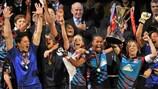 Lyon conquista título europeu