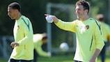 Michael Carrick (Manchester United FC) no se fía del Schalke