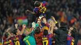 Barcelona keep Madrid at bay to reach final