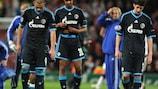 Los jugadores del Schalke 04