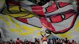 Braga fans at the UEFA Europa League final in Dublin