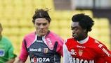 Lukman Haruna en un partido con el Monaco la pasada temporada