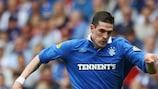 Rangers forward Kyle Lafferty will miss the start of the season