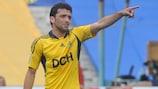 Edmar no espera que el Olympiacos salga a defender en Kharkov