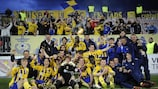 Ventspils bask in the glory of their fifth Latvian Cup triumph