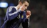 Der neue Rangers-Spieler Lee Wallace im Trikot der schottischen Nationalmannschaft