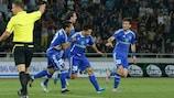 El Dínamo Tbilisi remontó un 2-1 en contra al vencer por 5-0 en casa