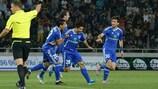 Le Dinamo Tbilisi, battu 2-1 à l'aller, a renversé Llanelli 5-0