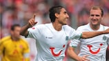 Mohammed Abdellaoue opened the scoring in Poltava