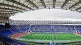 The Stadio Olimpico ahead of kick-off