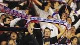 Die Hajduk-Fans hoffen darauf, ihr Team in der nächsten Woche gegen Inter spielen zu sehen