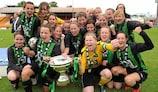 Peamount a gagné la Coupe d'Irlande en 2010