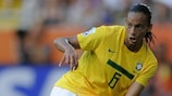 Experienced Braziian international Rosana can play both in defence and midfield