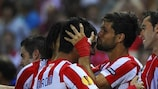 Falcao helps fire Atlético to win against Celtic