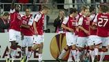 AZ Alkmaar struck twice late on to earn a 2-2 draw against Austria
