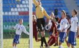 Olga Petrova marcó de gol 'olímpico' para Rusia