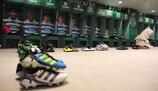 The home dressing room at the José Alvalade Stadium